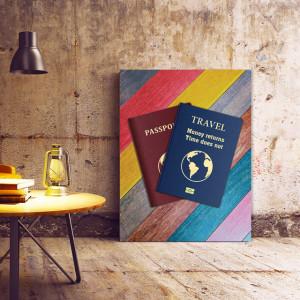 Tablou motivational - Travel