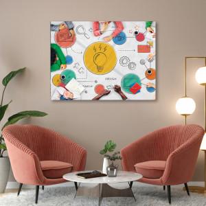 Tablou office - Lightbulb ideas