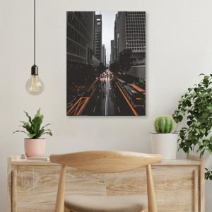 Tablou office - Rainy day in NY