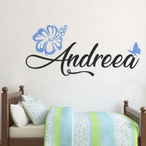 Sticker cu nume - Andreea
