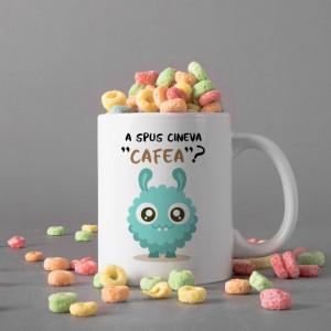 Cana Cu Mesaj - A Spus Cineva Cafea?