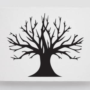 Finger print tree blow