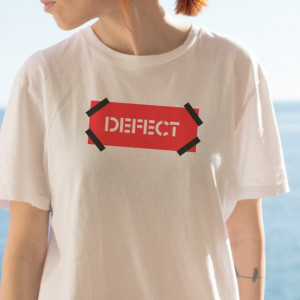 Imprimeu tricou DEFECT