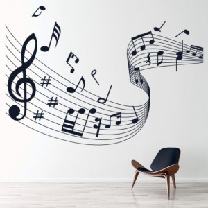 Music Score Musical Notes
