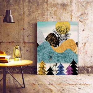 Set tablouri canvas - Magical forest