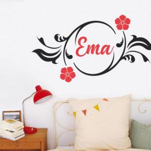Sticker cu nume - Ema
