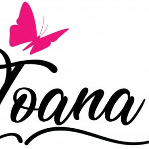 Sticker cu nume - Ioana