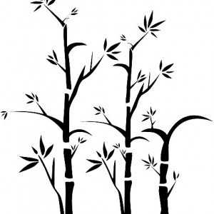 Sticker De Perete Bambus 03