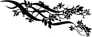 Sticker De Perete Crenguta De Flori
