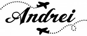 Sticker De Perete Cu Nume - Andrei