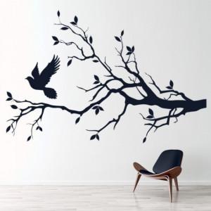 Sticker De Perete Dove Tree Branch