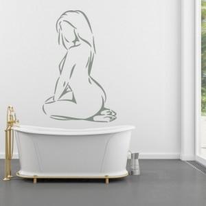 Sticker De Perete Femeie Nud 2