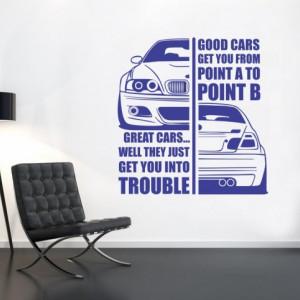 Sticker de Perete Good Cars
