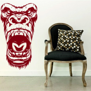 Sticker De Perete Gorile Fear