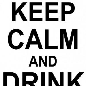Sticker De Perete Keep Calm And Drink Vodka