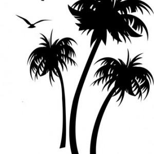 Sticker De Perete Palmieri Si Pasari