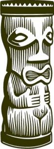 Sticker De Perete Statueta Exotica 2