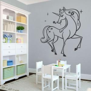Sticker De Perete Unicorn