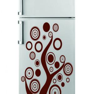 Sticker frigider - arbore