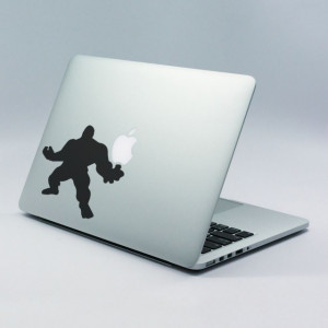 Sticker laptop - Hulk