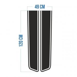 Stickere Dungi Tip Strips Pentru Capota