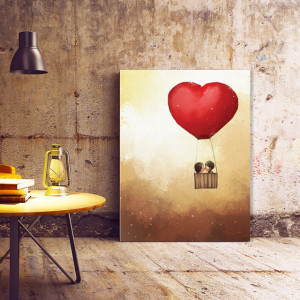 Tablou Canvas Flying Kiss