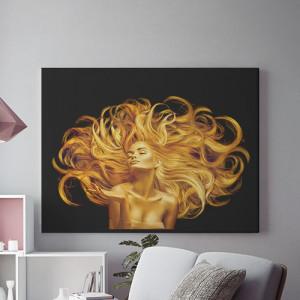 Tablou Canvas Golden fantasy