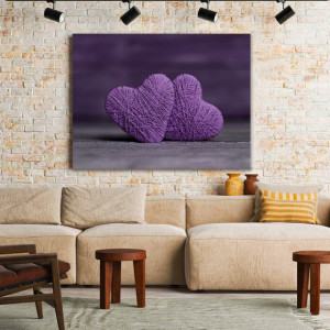 Tablou Canvas Love Threads