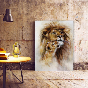 Tablou Canvas Wild Love