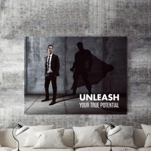 Tablou motivational - Unleash your true potential