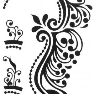 Tatuaj temporar -artistry- 17x10cm