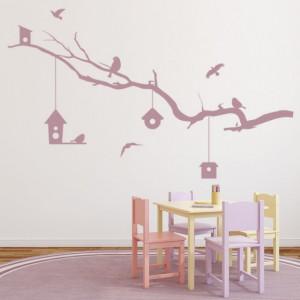 Tree Branch Bird House