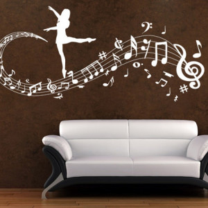 Note muzicale balerina