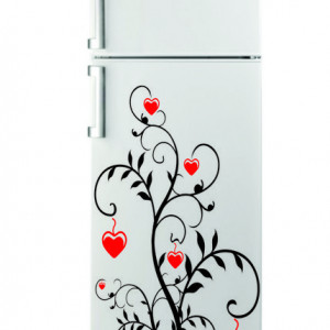 Sticker frigider - floare 06