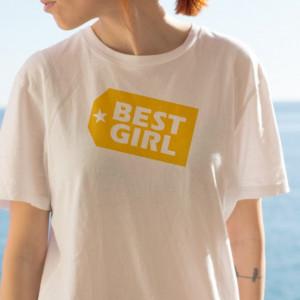 Imprimeu tricou BEST GIRL