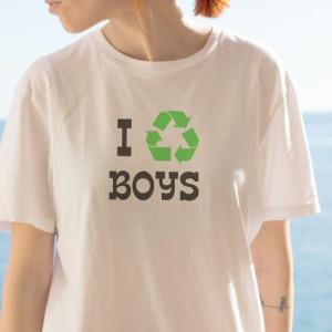 Imprimeu tricou RECYCLING BOYS