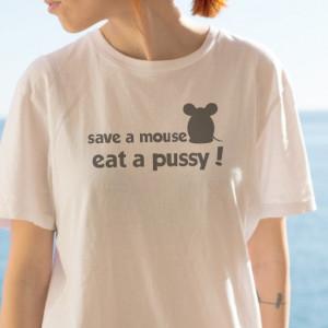 Imprimeu tricou SAVE A MOUSE
