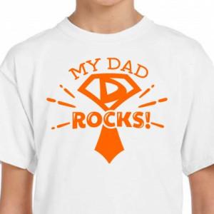 Imprimeu tricou My dad rocks