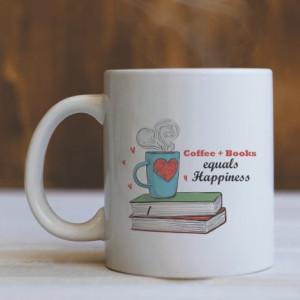 CANA COFFEE + BOOKS = HAPPINESS