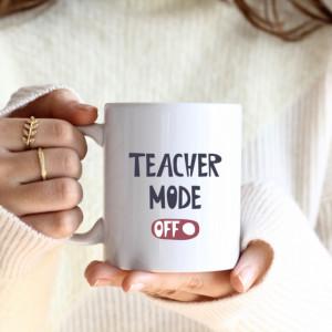 Cana cu Mesaj Teacher Mode Off