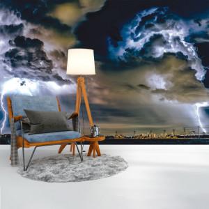Foto tapet Thunderstorm