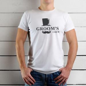 Imprimeu tricou GROOM - GROOM'S CREW