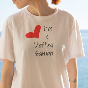 Imprimeu tricou LIMITED EDITION (HEART)