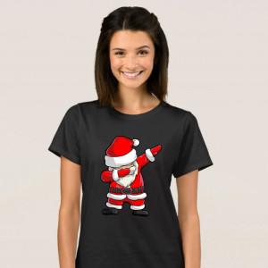 Imprimeu Tricou Santa Dabbing