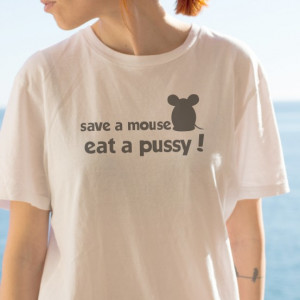 Imprimeu tricou SAVE A MOUSE