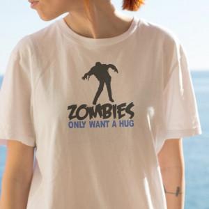 Imprimeu tricou ZOMBIES
