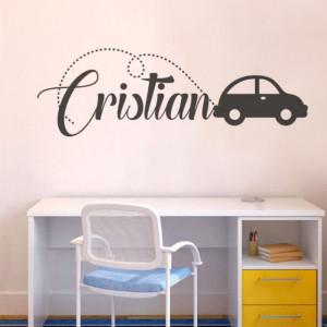 Sticker cu nume - Cristian