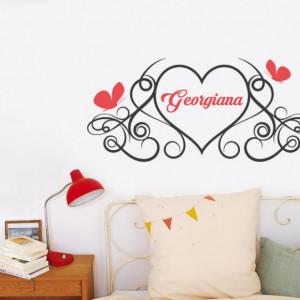Sticker cu nume - Georgiana