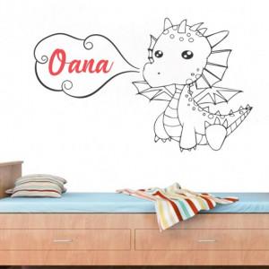 Sticker cu nume - Oana