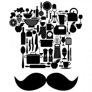 Sticker De Perete Chef